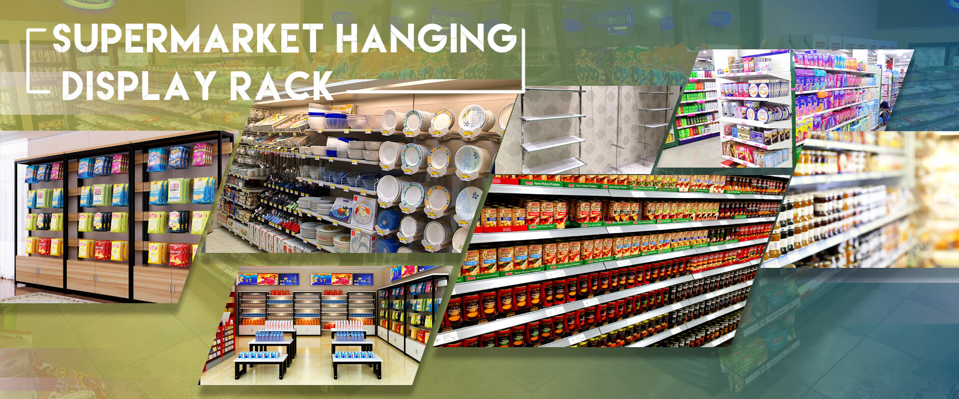 Supermarket Hanging Display Rack Manufacturers